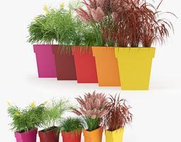 3d il vaso outdoor planter color