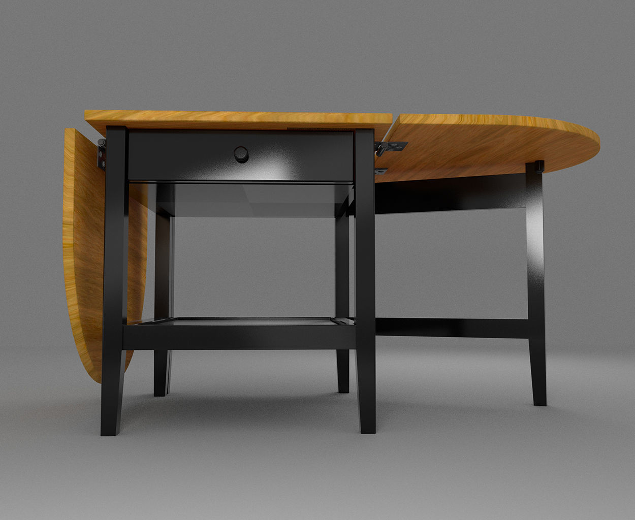 coffee table arkelstorp ikea 3d model obj fbx ma mb 3dm mel