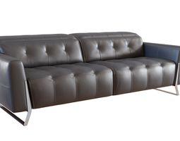 3D asset HTL Relax Studio - 3 Seater Electric Recliner
