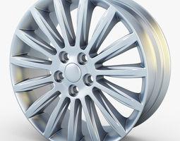 mondeo spoke 17 alloy wheel 3d