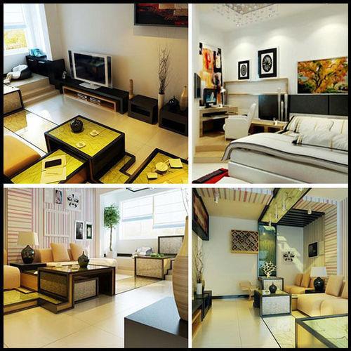 444 Room 3d Model Max