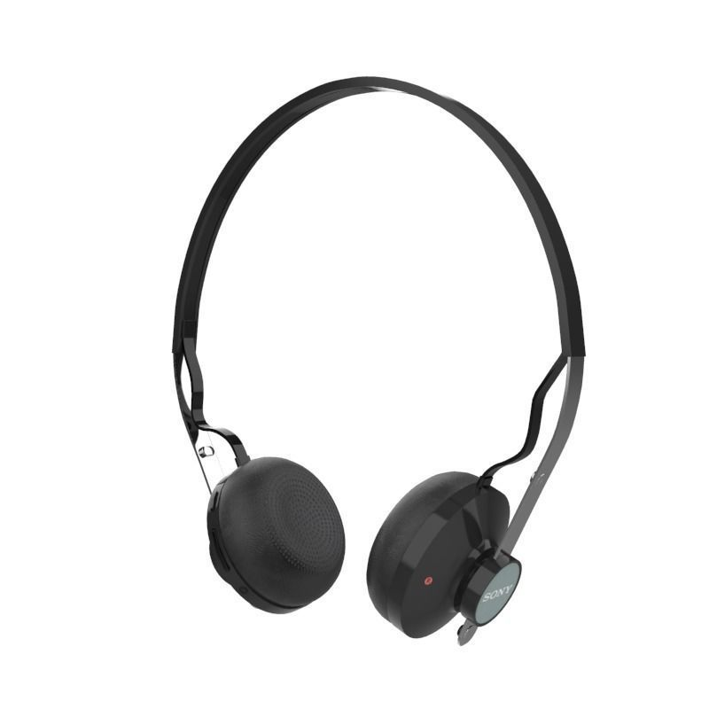 3d Sony Sbh60 Bluetooth Headset Black Cgtrader