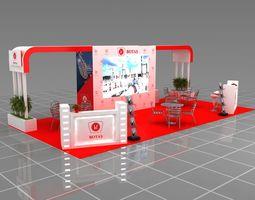 3d Fair Stand Exhibition