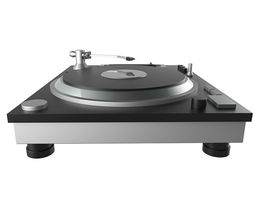 dj turntable disco dance music 3d