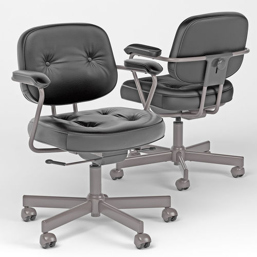 Alefjall Office Chair Ikea 3d Model