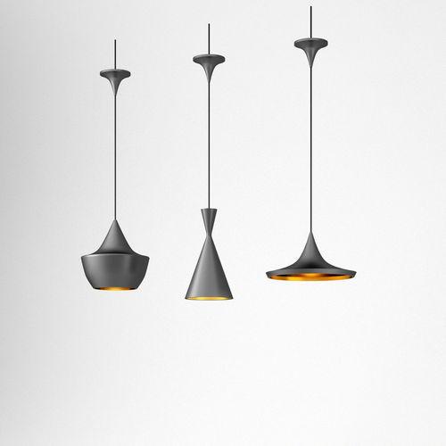 tom dixon beat ceiling lamps 3d model obj mtl 3ds fbx c4d dae 1