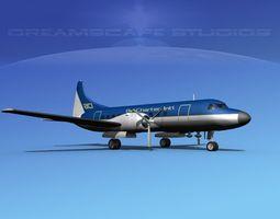 Convair CV-340 Air Charter Intl 3D