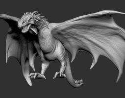 3D printable model Dragon 01