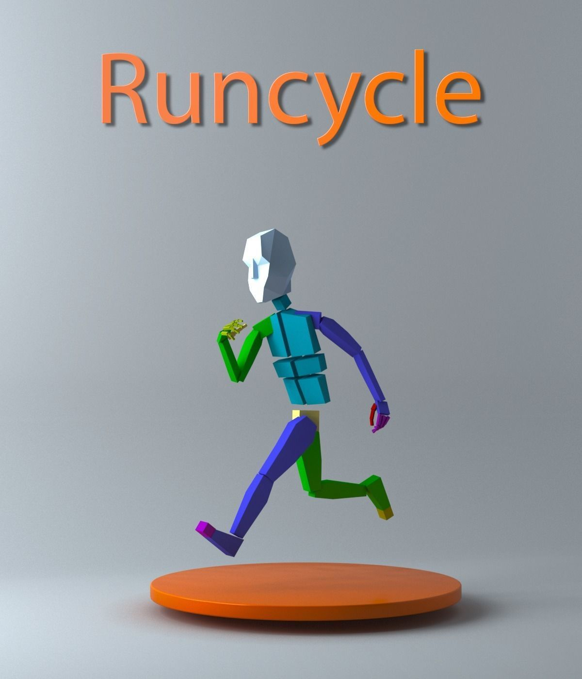 Runcycle Bip | 3D model