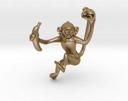 3D printable model Lucky Monkey