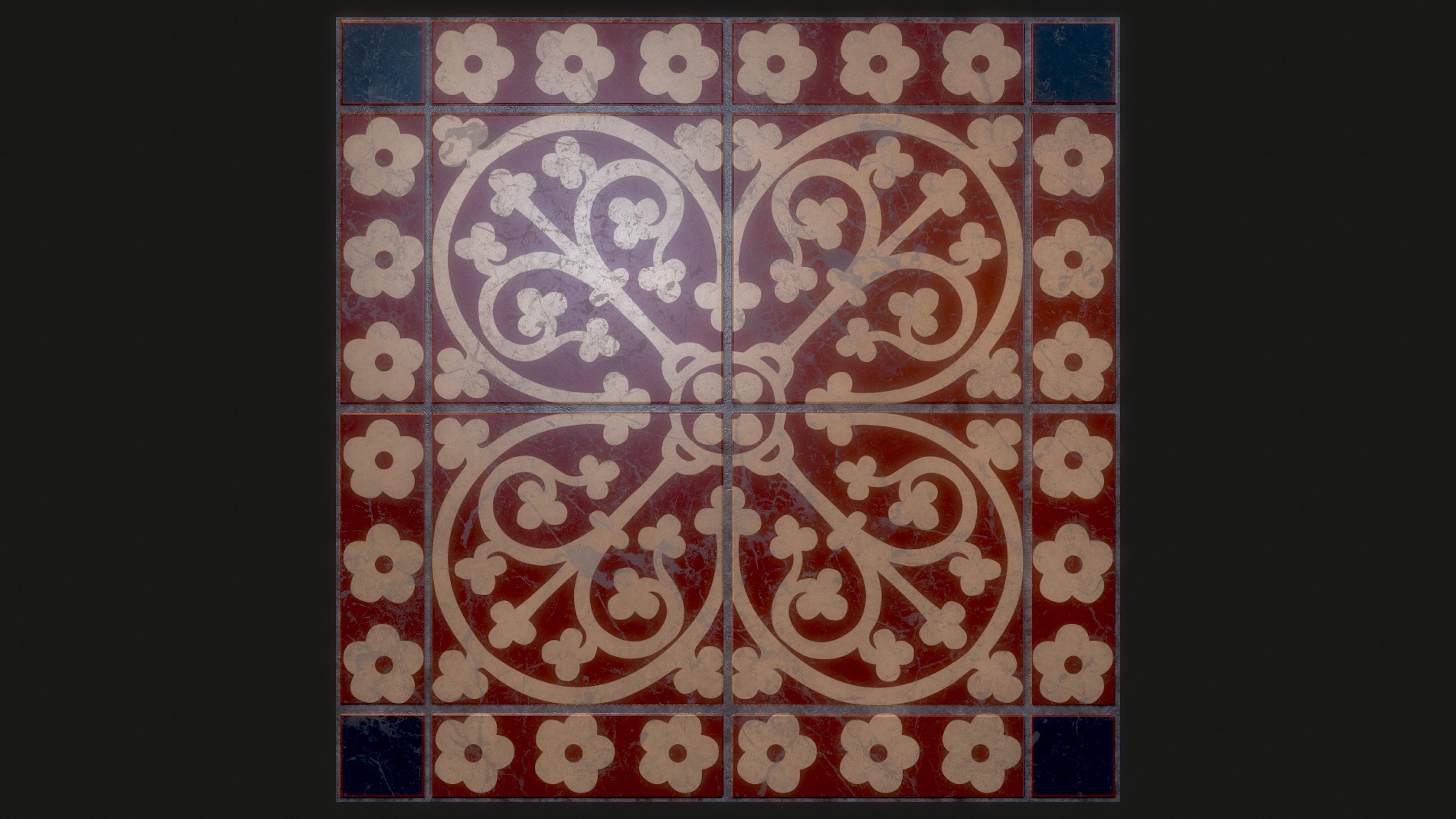 Decorative Meval Ceramic Floor Tile