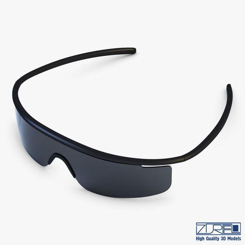 595f7ebe69 Sunglasses v 1 3D model MAX OBJ MTL FBX