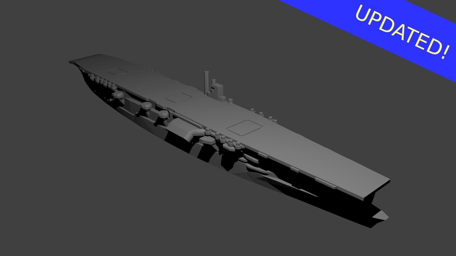 Japanese Aircraft Carrier Akagi