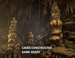 Cave constructor 3D asset