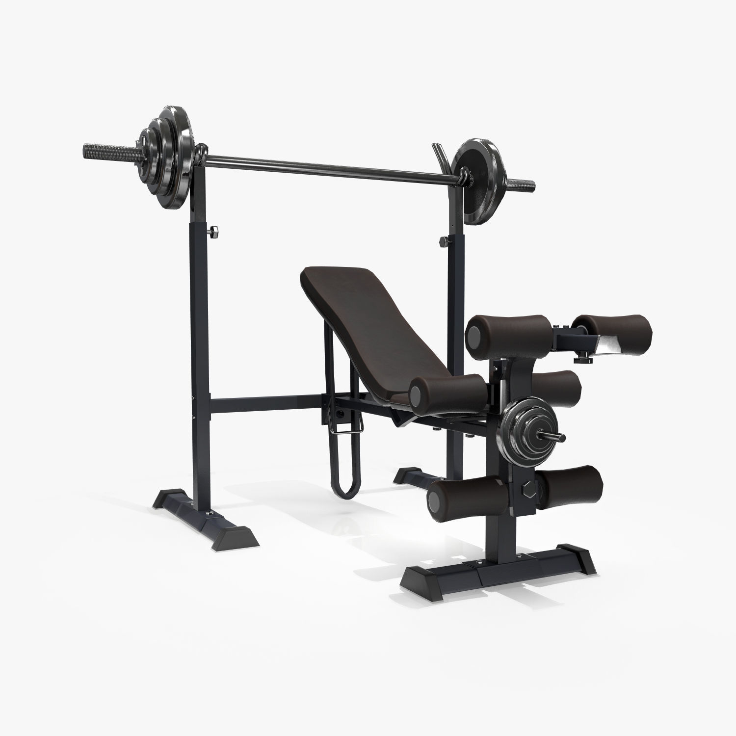 Lifting Bench Game Ready | 3D model