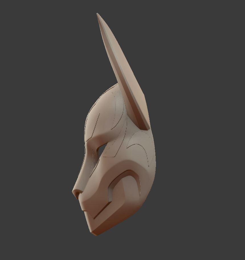 fortnite kitsune drift mask 3d model stl - fortnite drift mask buy