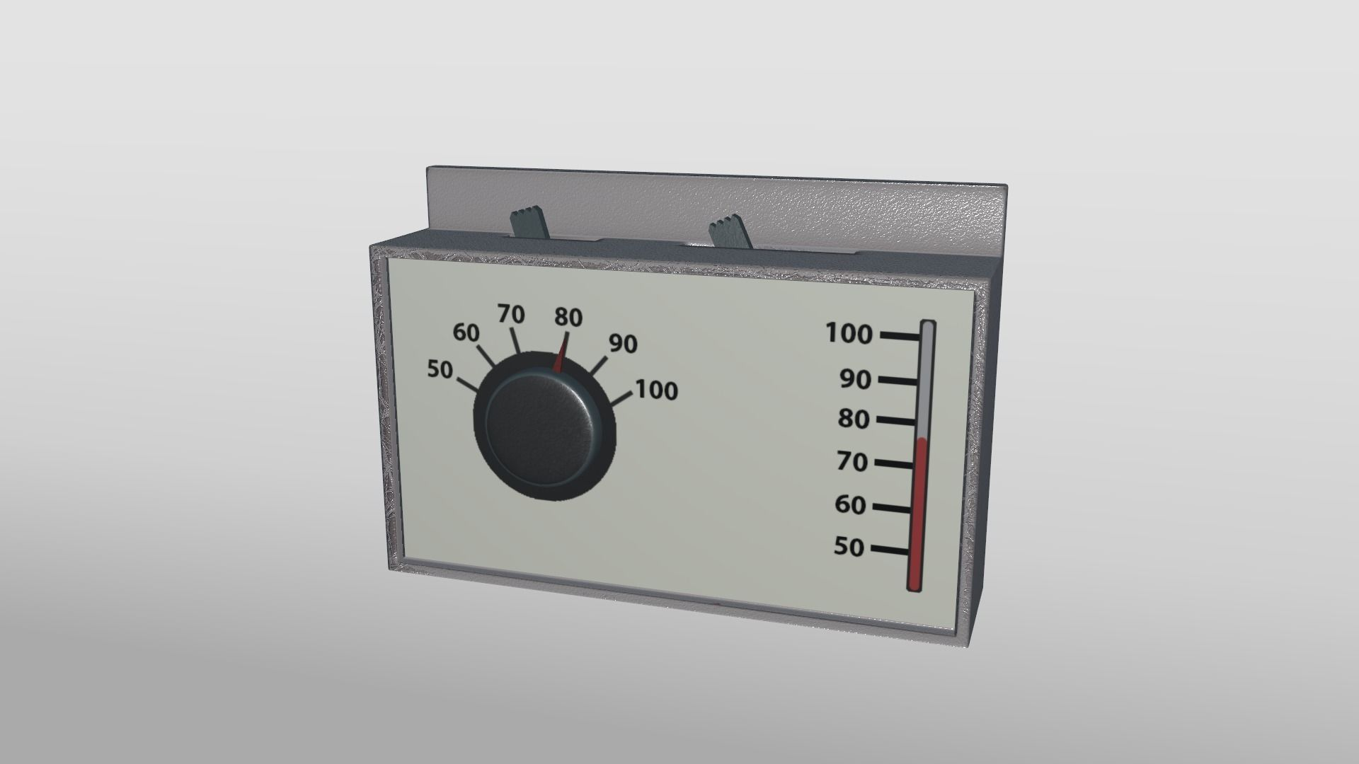Air Conditioner Control Panel   3D model