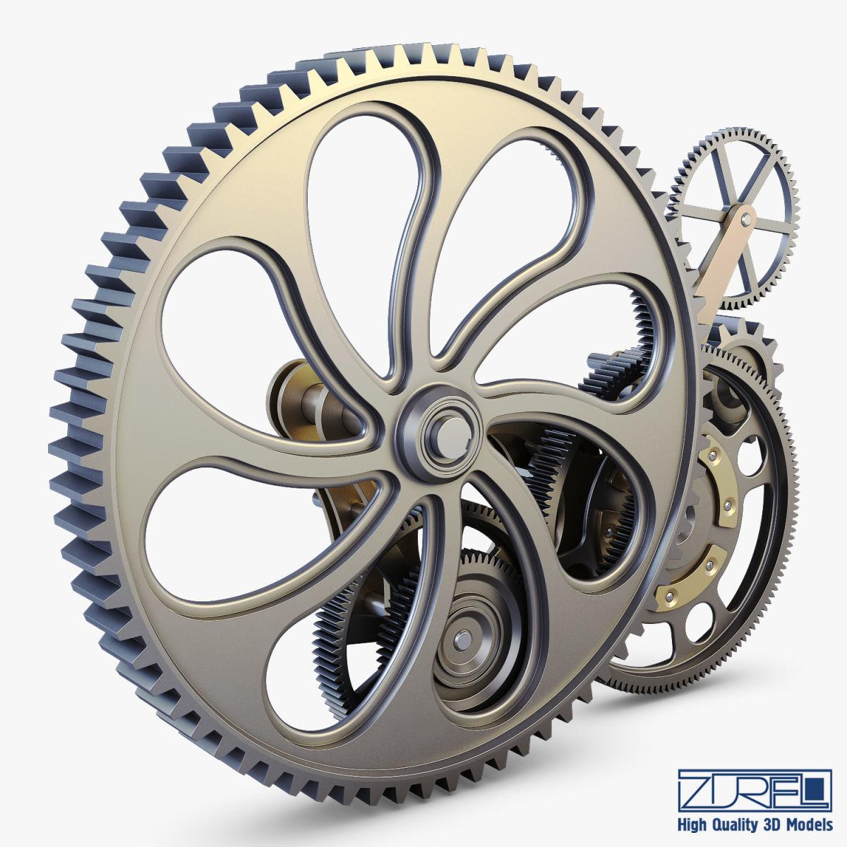 Gear mechanism v 7