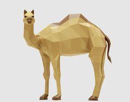 Camel 3D model VR / AR ready