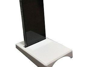 Sound amplifier and holder for Mobile 3D printable model