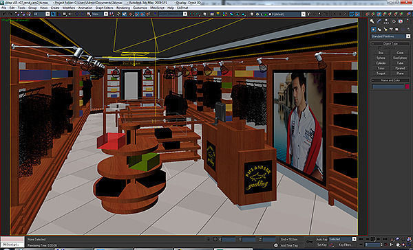 Clothing Store Interior For Men And Women Render Ready 3d Model Max Obj 3ds Fbx C4d