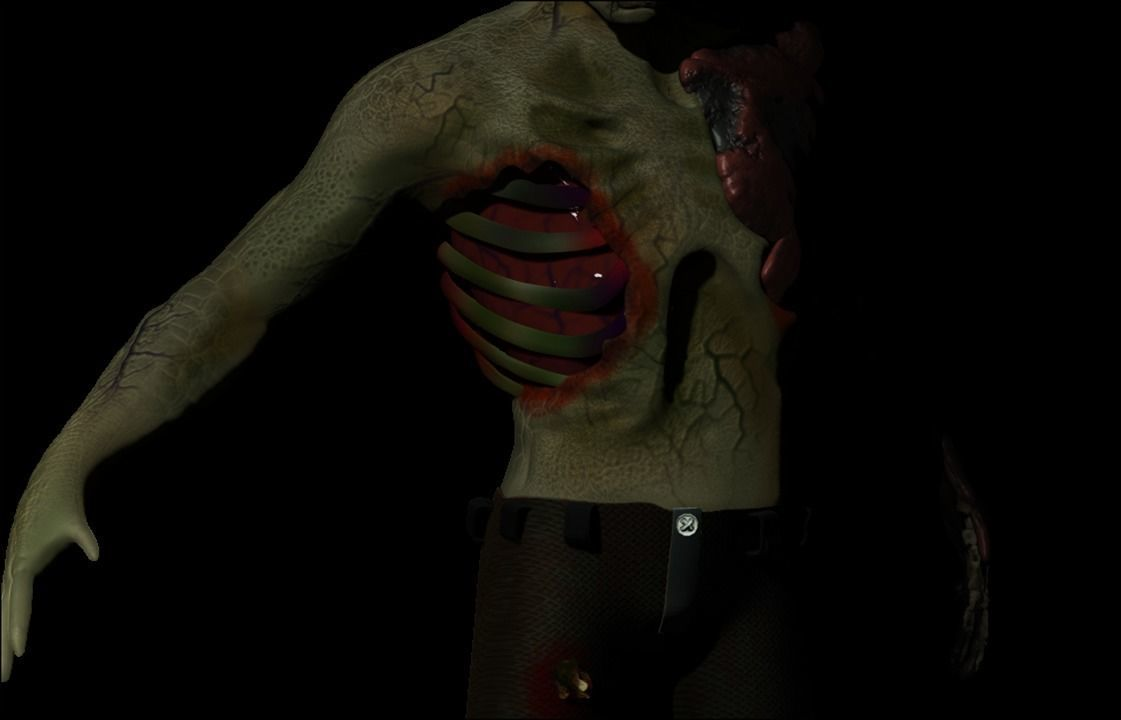 Decomposed Zombie