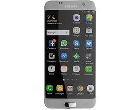 SAMSUNG GALAXY S7 EDGE 32GB SILVER 3D