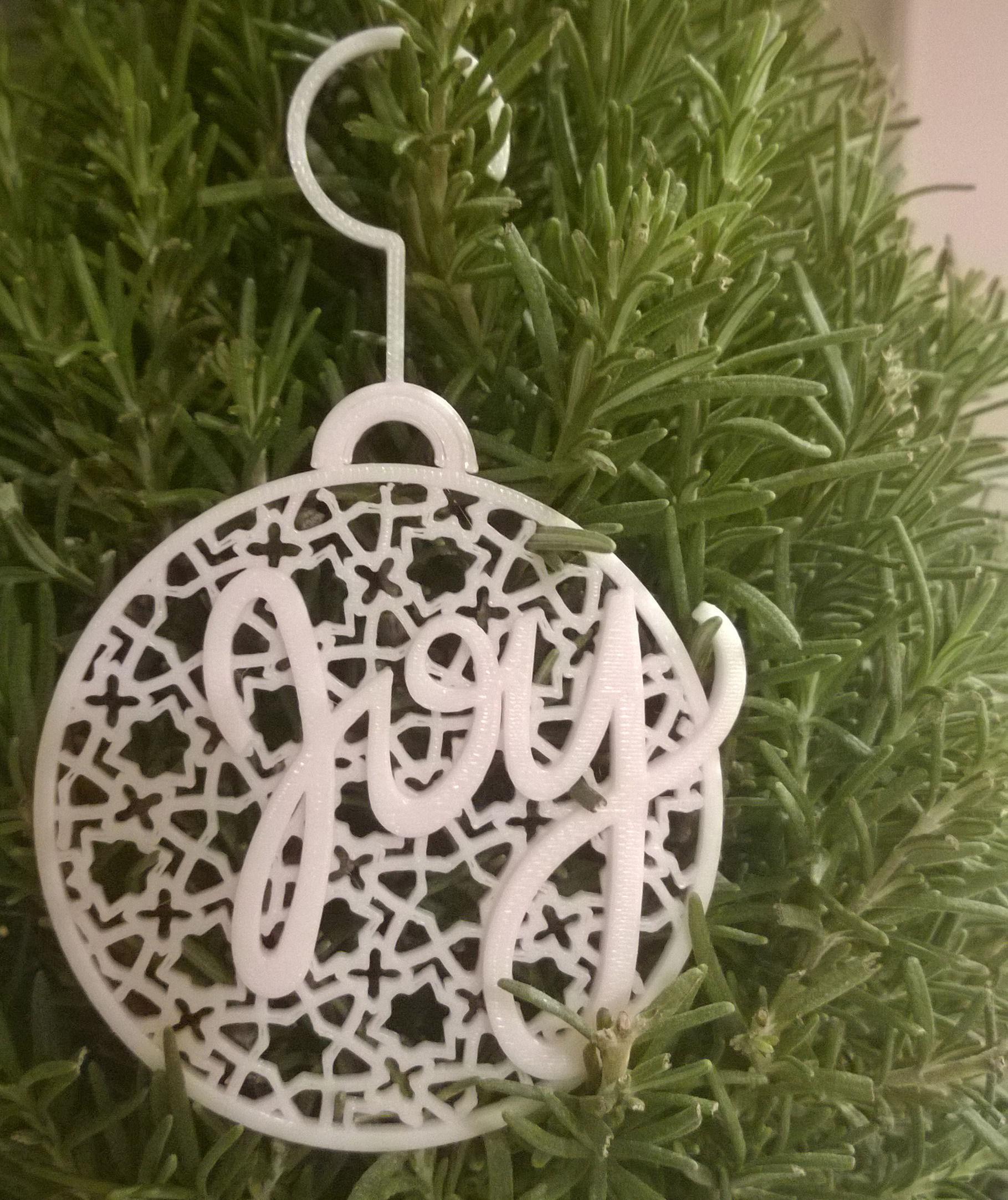027a - Ornament - Joy Geometric -