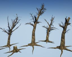 Dead Tree Optimized Collection 2 3D asset