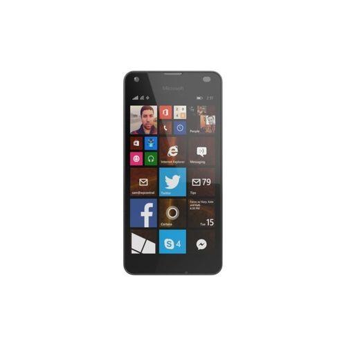 microsoft lumia 550 lte black 3d model obj mtl fbx ma mb stl 1