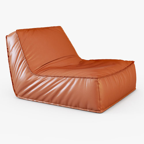 Zoe Low Lounge Chair 3d Model Cgtrader