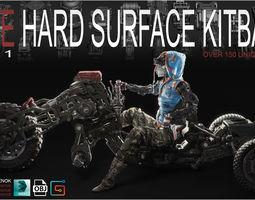 3D model FREE Hard Surface Kitbash Volume 1