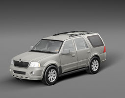 3D model Lincoln Navigator