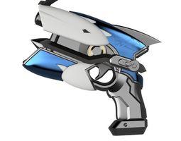 DVa Cruiser Light Gun replica with and 3D print model 1