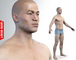 3D model Average Asian Male Body