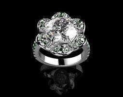 Beautiful Fashion Jewelry Ring N2 3D printable model