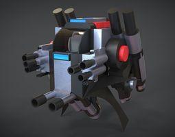 Aero Machine 3D asset