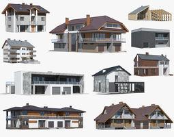 3d cottage collection 02