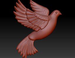 flying pigeon 3D print model