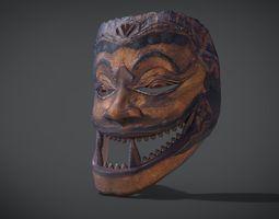 Cakil Mask 3D model