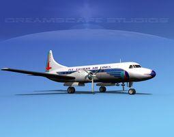 3D Convair CV-340 Eastern Airlines 1