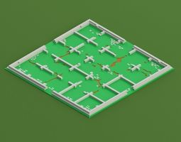 3D print model Santorini Board Game Board