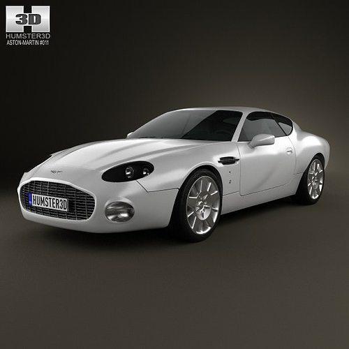 Aston Martin DB7 GT Zagato 2002 3D