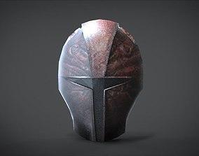 Mandalorian Old Mask 3D asset