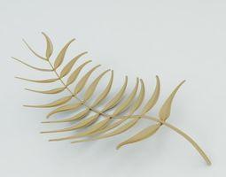 Golden Leaf 3D