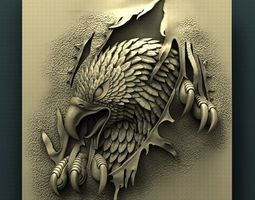 3d STL Model for CNC Router Eagle
