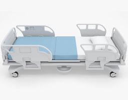 3D model Medical - Hospital Bed 2
