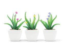 Plastic Flowers 3D