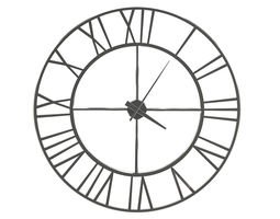 3D model Metal Wall Clock