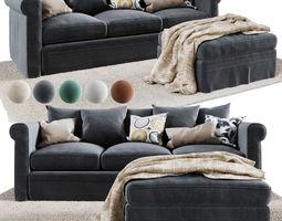 3D model GRONLID 3-seat sofa